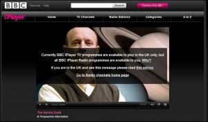 What Happens when you watch BBC Iplayer Overseas